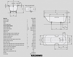 Ванна стальная Kaldewei Saniform Plus 375-1 180x80 112800010001